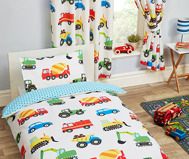 Trucks and transport, cars, nikes themes befroom